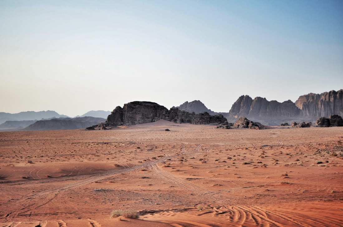 A trip to Jordan isn't complete without booking a Wadi Rum camping trip and settling down in bubble tents after a full day Wadi Rum tour! Red sands as far as the eye can see