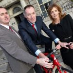 Pictured at the announcement that a newly formed HBAN Food Syndicate has invested in its first company, Elivar, are Michael Culligan, national director, HBAN; Donal Hanrahan founder of Elivar and Alison Cowzer, managing director of The Food Company.