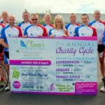 Cliona's Foundation Cycle Group launch their new cycling gear and announce date of 7th annual cycle