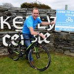 Cycling legend Sean Kelly is pictured at the launch of the 13th annual Cork to Galway charity cycle in aid of Breakthrough Cancer Research. This two day cycle takes place on Friday and Saturday June 19th & 20th, for more information visit www.corktogalway.com.