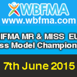 2015 WBFMA NIFMA Mr and Miss EUROPE Fitness Model Championships