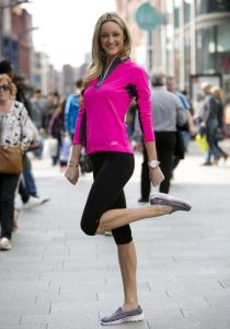 Storm Uechtriz launches limited edition Skechers 'Go Walk 2' shoe in aid of Marie Keating Foundation