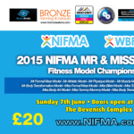 5 Weeks to 2015 NIFMA WBFMA Mr & Miss EUROPE Fitness Model Championships