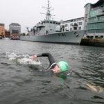 10 years swimming across Galway Bay