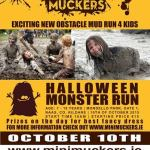 Mini Muckers exciting new obstacle mud run for kids October 10th 2015