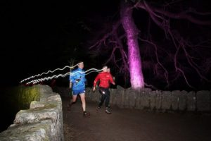 Runners set to light up the night at