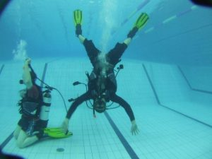 October is National try a Dive month where members of the public are invited to try out scuba diving in the safety of a pool under expert instruction with diving clubs nationwide that are affiliated with the Irish Underwater Council