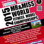 ​3 Weeks to NIFMA Mr & Miss World Fitness Model Championships ​
