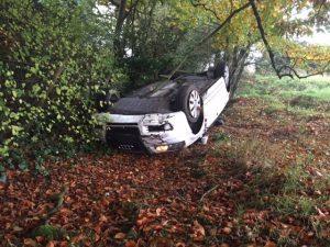 tara wilson black car crash