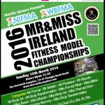 Less than 8 weeks to 2016 NIFMA Mr & Miss Ireland Fitness Model Championships