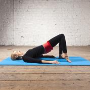 Bridging Heel Floats reform pilates