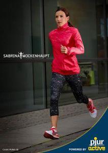 Sabrina Mockenhaupt is the new Brand Ambassador for pjur active