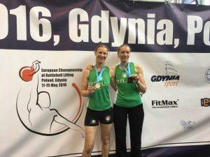 Sarah Smith ,Gold Medal Winner and Ella Stanton Bronze Medal Winner