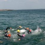 Swimming across Galway Bay for Cancer Care West