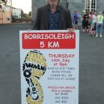 Irish athletics legend Jerry Kiernan helping to promote the Borrisoleigh 5km