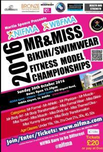 Upcoming NIFMA Fitness Model Championships