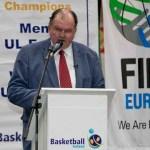 CEO and Secretary General of Basketball Ireland, Bernard O'Byrne. Photo Credit ©INPHO/Morgan Treacy
