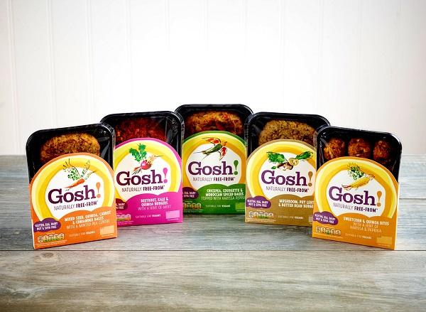 Gosh vegan food 5 pack