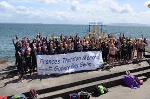 67 Hardy souls for the First Time Trial for the 2017 Bay Swim