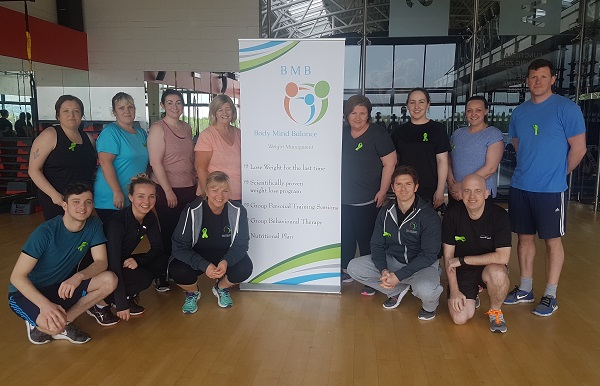 Body Mind Balance Weight Management has successfully conducted a special training class last Saturday to promote the Green Ribbon campaign at Westpark Fitness Tallaght