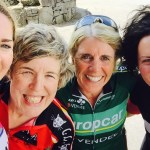 Galway Baybes in Connemara after 24 hours of Race Training last weekend L-R Joanne, Karen, Marie & Brid