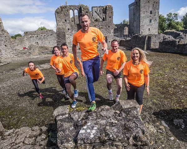 GAA greats Jackie Tyrell, David Herity, Jackie Tyrrell and Noel Hickey have today lined out for the launch of Ireland's first and only Endurance Obstacle Course Event, 'Reign of Terror'. Joining them at the launch were Donna Dunne, TV3 chef Edward Hayden and former Kilkenny camogie player Tracy Millea. Thousands are expected to descend upon the medieval village of Kells, County Kilkenny, for the adrenaline fuelled event on Saturday, October 21st. Picture: Pat Moore