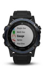 Garmin dive computer Descent Mk1 surface GPS wearable