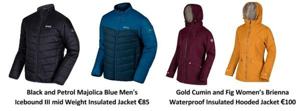 Regatta Great Outdoors ski jackets