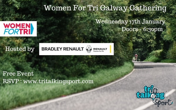 Women For Tri Galway Gathering 2018