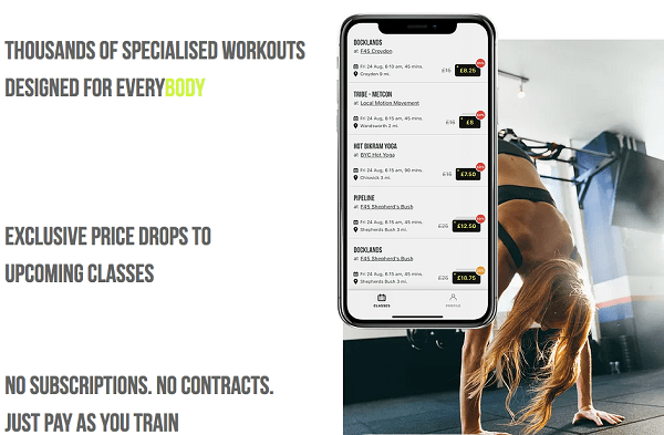 FITNESS BOOKING APP RIG INTRODUCES NEW ERA OF CONTRACTLESS FITNESS