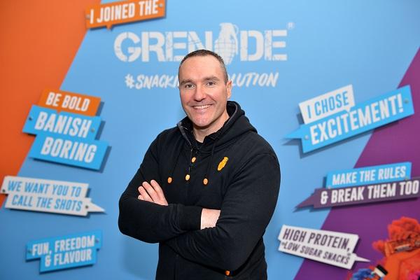 Alan Barratt, Founder and CEO of Grenade