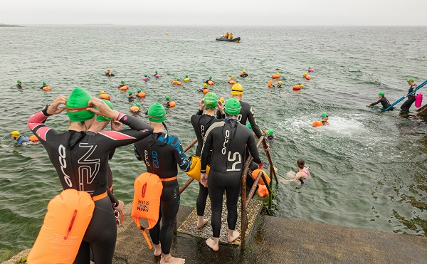 Frances Thornton Memorial Galway Bay Swim in aid of Cancer Care West returns to the waters of Galway Bay this Saturday