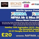 2019 NIFMA Ireland Fitness Model Championships Tickets