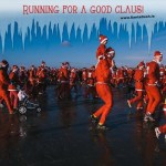 Santa Dash Dublin: Sunday, 1st December, Bull Island, Clontarf, 10.30am