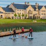 Paddle Boarding at Lough Erne Resort