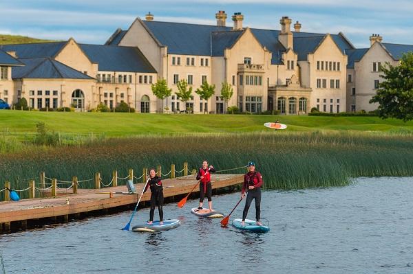 Paddle Boarding at Lough Erne Resort