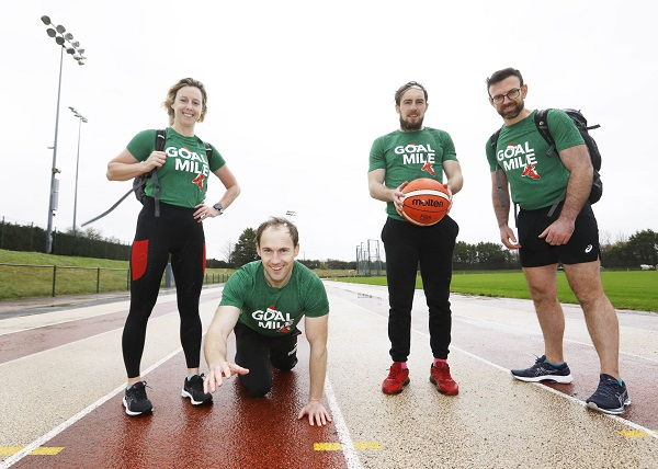 The Hickson Family attempt to smash 5 Guinness Book of Records challenges to support the GOAL MILE  as it goes VIRTUAL