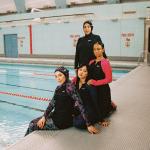 nike swim victory modest swimwear