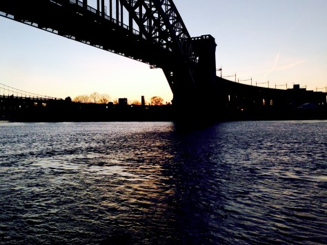 Sunset from Astoria Park