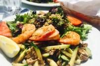 Mercedes Salad with Shrimp - Venice Beach