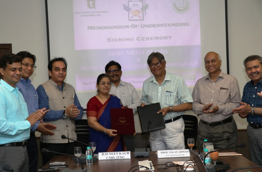 ITDC-Jamia join hands, offer three-year B. Voc in Food Production