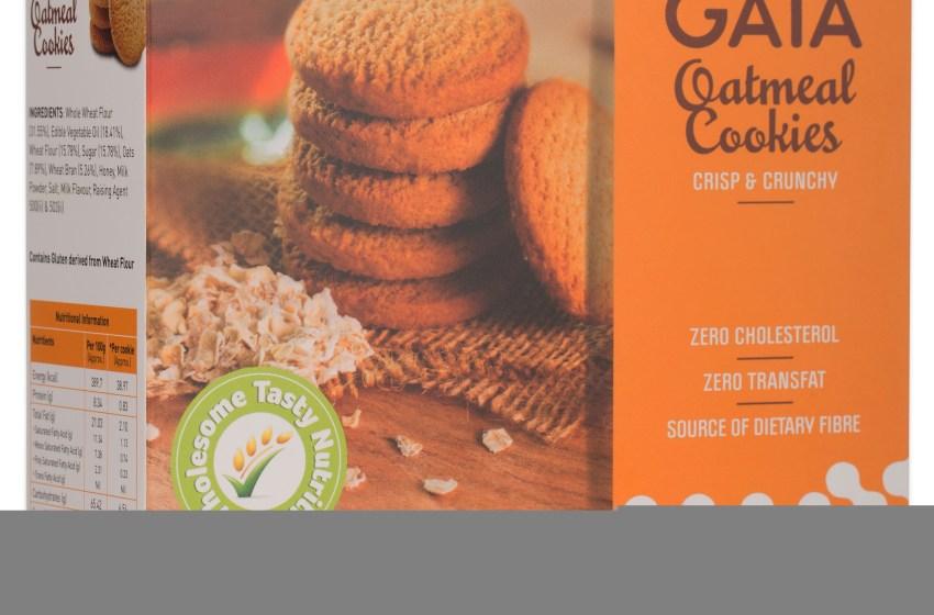 Munch on health, munch on Gaia Oatmeal Cookies