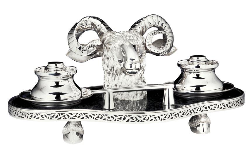 Victorian era F&H silver home decor accessories