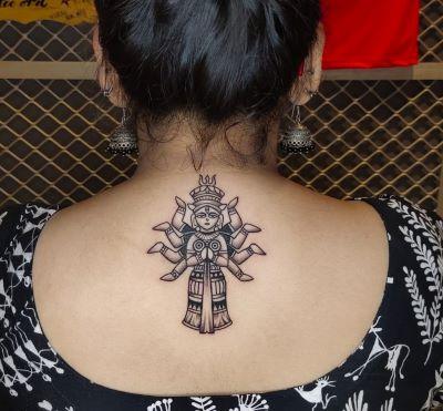 Get a Navratri tattoo today