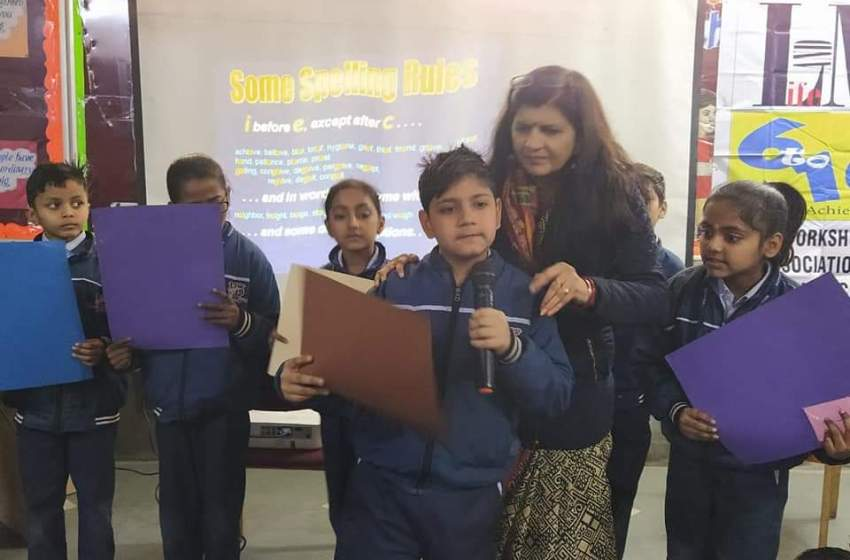 Fun With Spellings @ Kamal Public School