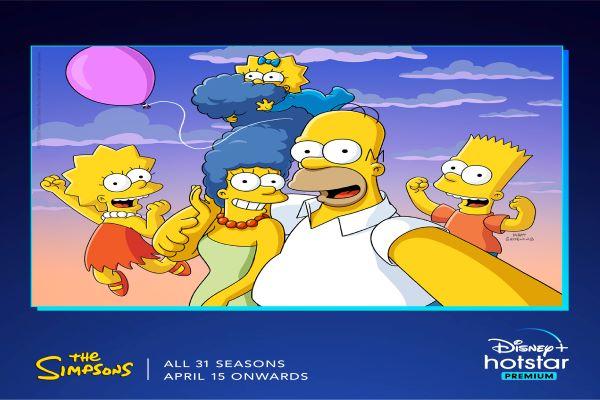 Catch The Simpsons on Disney+ Hotstar Premium