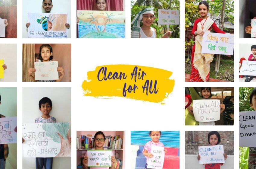 #SaalBhar60: Delhi join hands to seek healthy air to breathe post lockdown