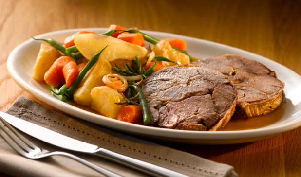 Slow Braised Lamb Shoulder with Pears and Potatoes (hi res) post