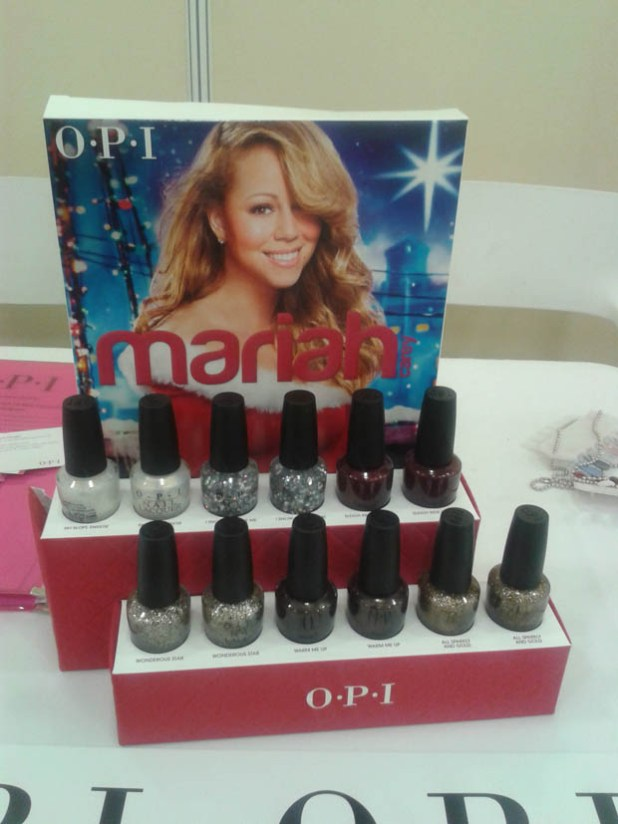 Limited Edition Holiday Nail Lacquers from O.P.I and Mariah Carey.