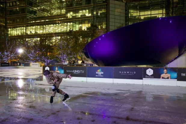Ghoulish Ice Show